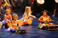 Gala La Cl� d'Echanges 2015 - Spectacle de Danse Africaine Zumba - photo n� IMG_3788