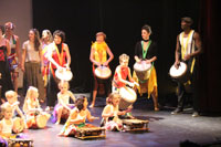 Gala La Cl� d'Echanges 2015 - Spectacle de Danse Africaine Zumba - photo n� IMG_3802