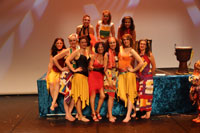 Gala La Cl� d'Echanges 2015 - Spectacle de Danse Africaine Zumba - photo n� IMG_4949